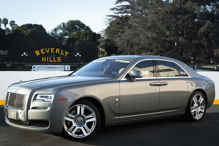 Grey Rolls Royce Rental